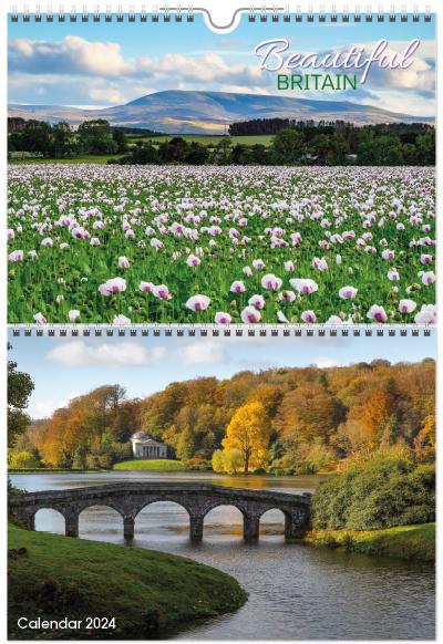 Coastline of Britain 2018 Calendar